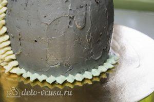 Торт Совенок: Начинаем украшать торт