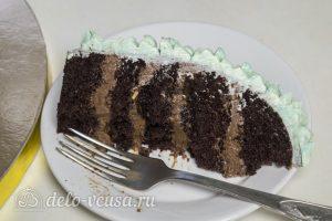 Торт Совенок в разрезе