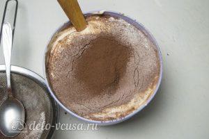 Торт Совенок: Добавить какао
