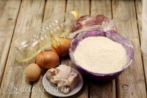 Манты с бараниной: Ингредиенты