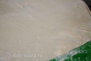 Манты с бараниной: Тесто раскатать в тонкий пласт