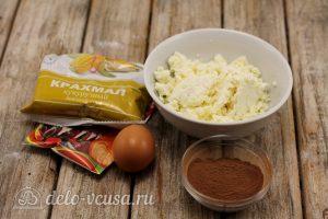 Сырники с кукурузным крахмалом по Дюкану: Ингредиенты