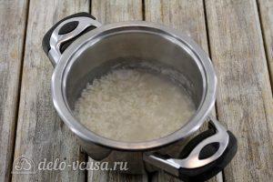 Тефтели с рисом в духовке: Отварить до полуготовности