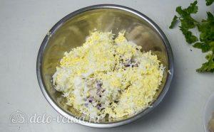 Блины с курицей и рисом: Рис отварить