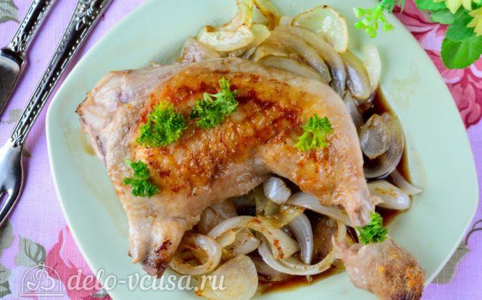 Рецепт жареная курица в соевом соусе