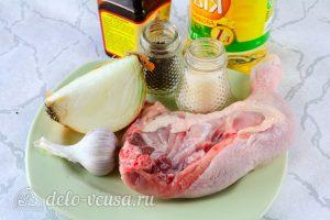 Жареная курица в соевом соусе: Ингредиенты