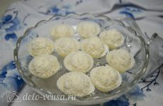 Конфеты из кокосовой стружки и сгущенки
