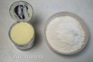 Конфеты из кокосовой стружки и сгущенки: Ингредиенты