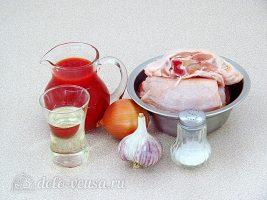 Курица в томатном соусе в мультиварке: Ингредиенты