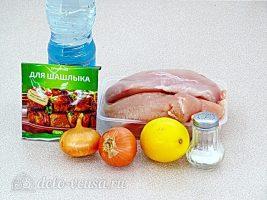 Куриный шашлык в банке: Ингредиенты