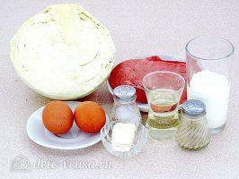 Мусака из капусты: Ингредиенты