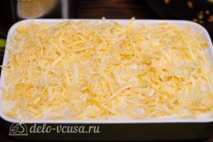 Пастицио: Слой соуса и сыра
