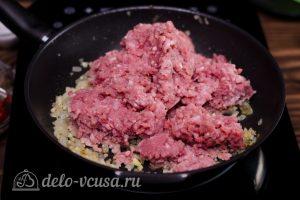 Пастицио: Добавить мясной фарш