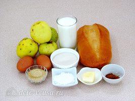 Шарлотка из белого хлеба: Ингредиенты