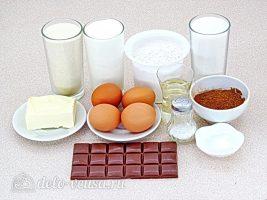 Шоколадный манник на сметане: Ингредиенты