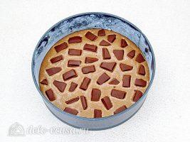 Шоколадный манник на сметане: Добавить шоколад