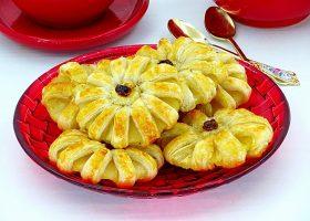 Рецепт ананасы в слоеном тесте