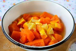 Варенье из тыквы с апельсином и лимоном: Добавить лимон и апельсин