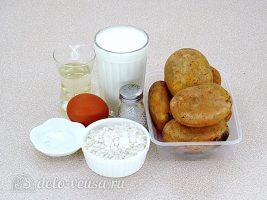 Заварные картофельные оладьи: Ингредиенты