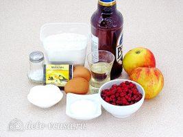 Блины с яблоками и брусникой: Ингредиенты