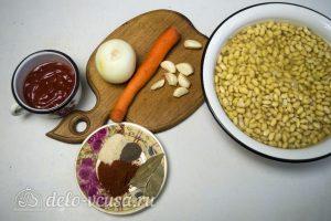 Тушеная соя: Ингредиенты