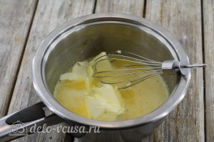 Лимонный курд с крахмалом: Добавляем сливочное масло