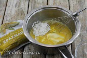Лимонный курд с крахмалом: Добавляем крахмал