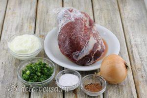 Начинка для чебуреков из говядины: Ингредиенты