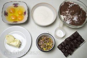 Шоколадное печенье с фисташками: Ингредиенты