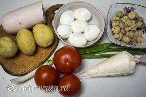 Салат Наполеон с грибами: Ингредиенты