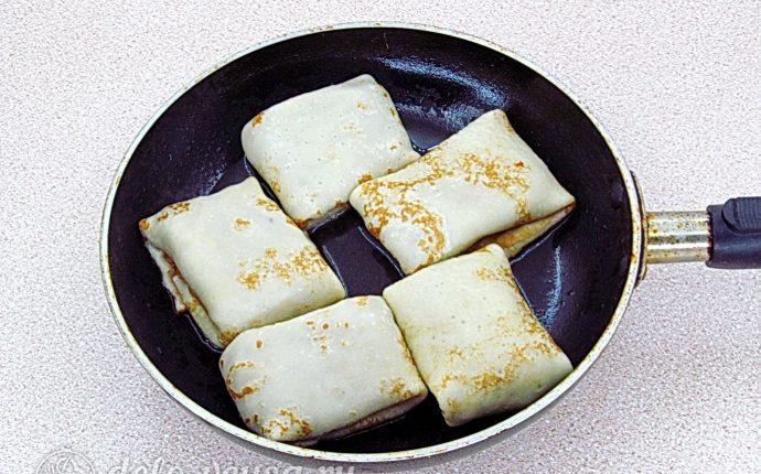 Блинчики с куриными желудками и рисом: Обжарить блинчики