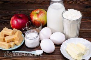 Блинный торт с яблоками: Ингредиенты