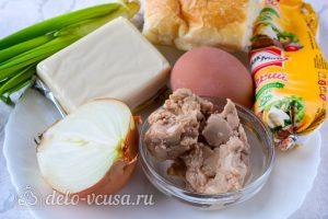 Бутерброды с печенью трески и яйцами: Ингредиенты