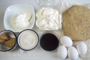Ореховый чизкейк: Ингредиенты