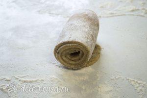 Ореховый чизкейк: Перенести бортик в форму