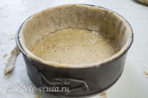 Ореховый чизкейк: Сформировать основу для чизкейка