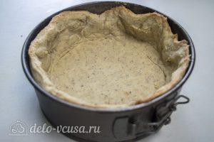 Ореховый чизкейк: Вынуть основу из духовки
