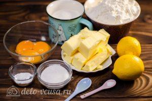 Лимонное печенье: Ингредиенты