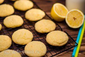 Лимонное печенье готово