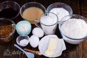 Пирожное Персики:Ингредиенты