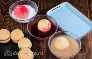 Пирожное Персики: Декорируем пирожное