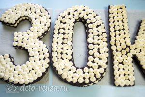 Торт Цифра из медовых коржей: Украсить торт