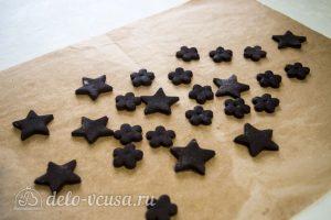 Торт Цифра из медовых коржей: из остатков теста сформировать печенье