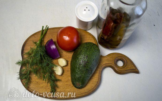 Гуакамоле с помидорами: Ингредиенты