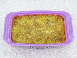 Картофельная запеканка с рыбными консервами: Запекаем до готовности