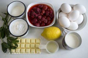 Лимонно-клубничный муссовый торт: Ингредиенты