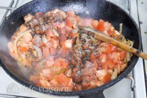 Курица с помидорами в сливках: Готовим томатный соус