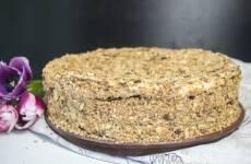 Торт Наполеон домашний с вареньем