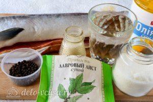 Соленая горбуша под семгу: Ингредиенты