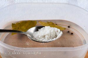 Соленая горбуша под семгу: Готовим рассол